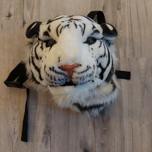 Tiger head backpack 🎒